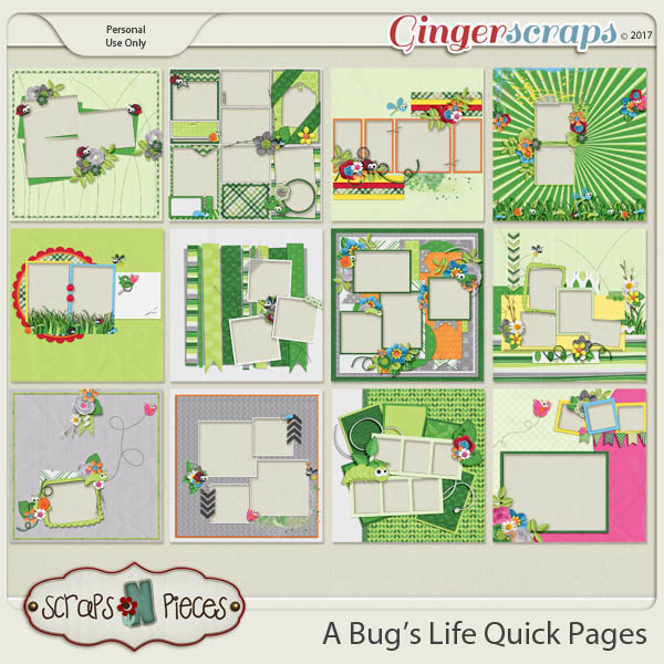 A Bug's Life Quick Pages