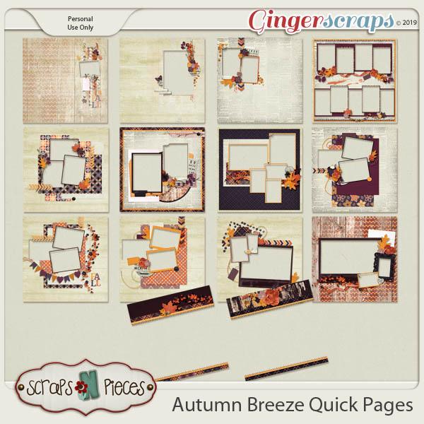 Autumn Breeze Quick Pages by Scraps N Pieces