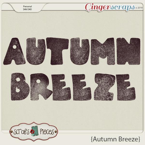 Autumn Breeze Alpha by Scraps N Pieces
