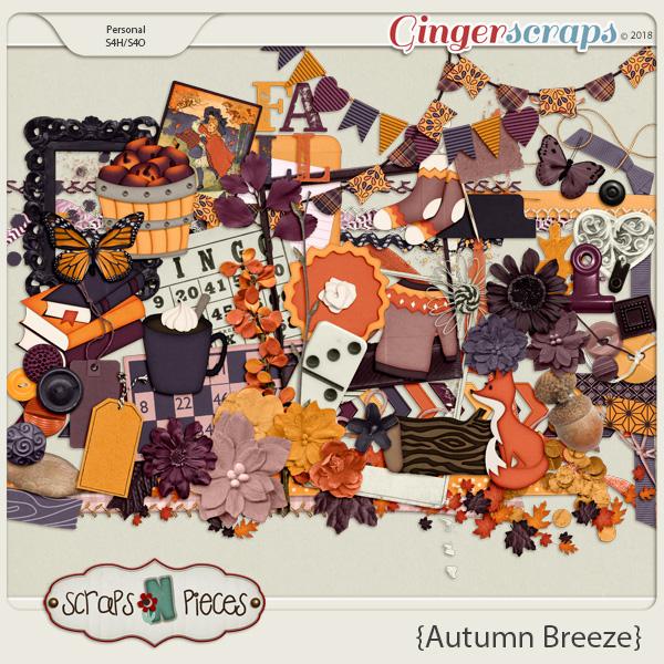 Autumn Breeze Elements by Scraps N Pieces