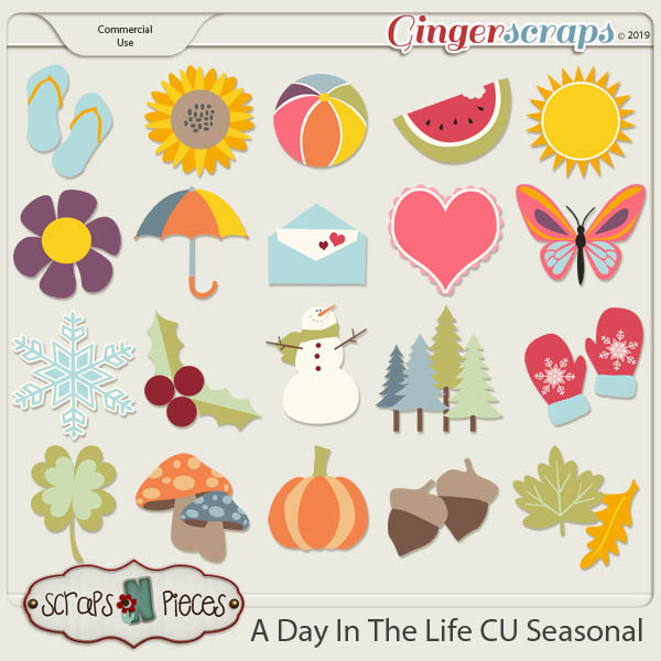 A Day In The Life CU Templates by Scraps N Pieces