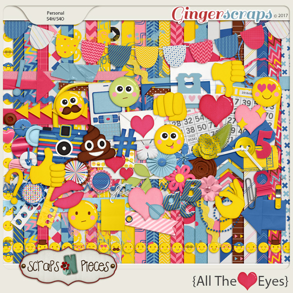 All The Heart Eyes by Scraps N Pieces