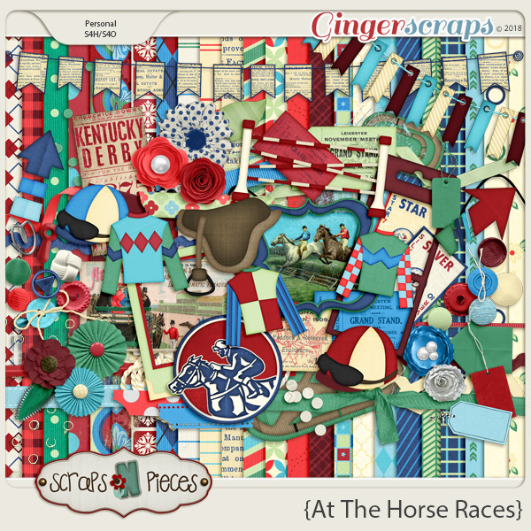 At The Horse Races Kit by Scraps N Pieces