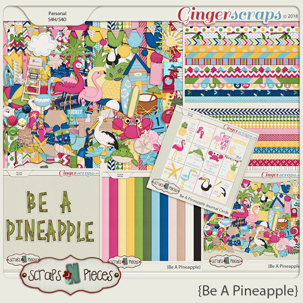 Be A Pineapple Bundle by Scraps N Pieces