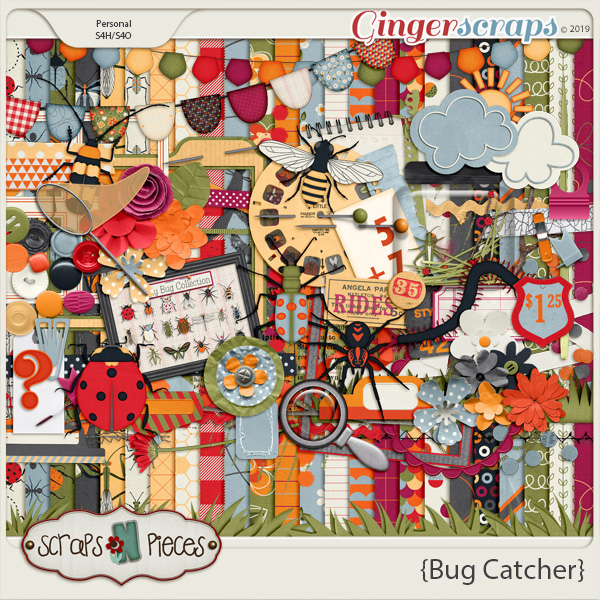 Bug Catcher by Scraps N Pieces