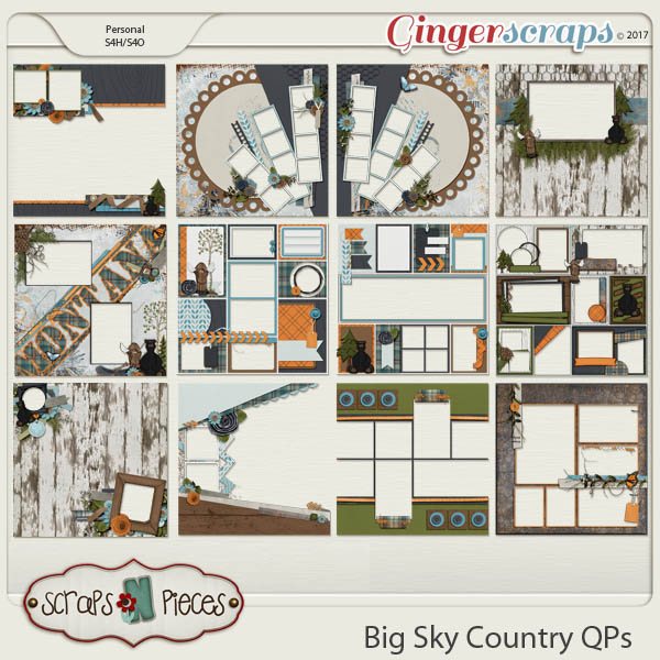 Big Sky Country Quick Pages