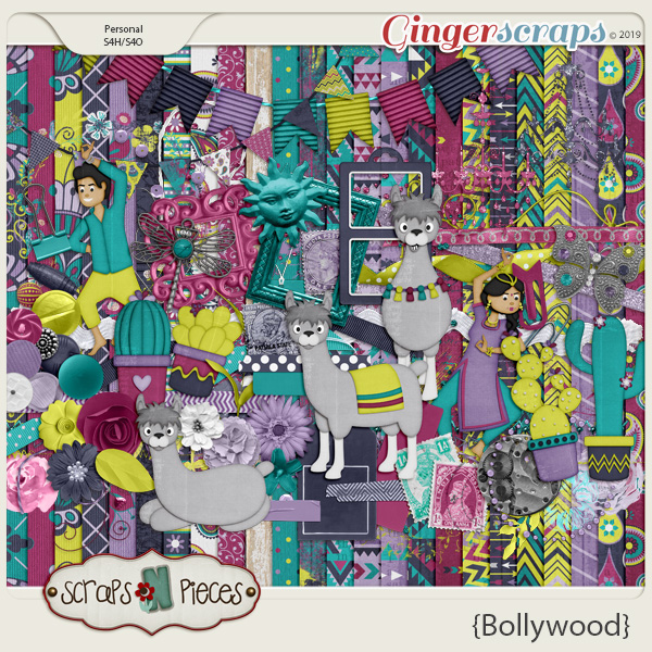 Bollywood kit by Scraps N Pieces