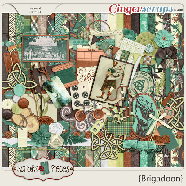 Brigadoon kit by Scraps N Pieces