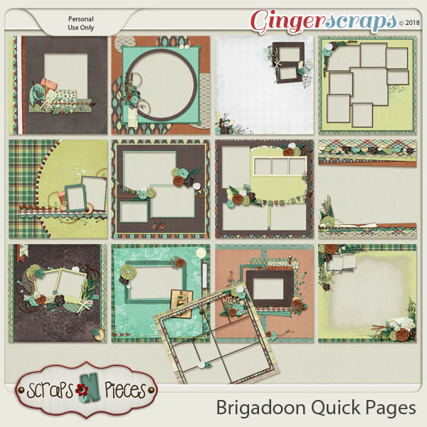 Brigadoon Quick Pages by Scraps N Pieces