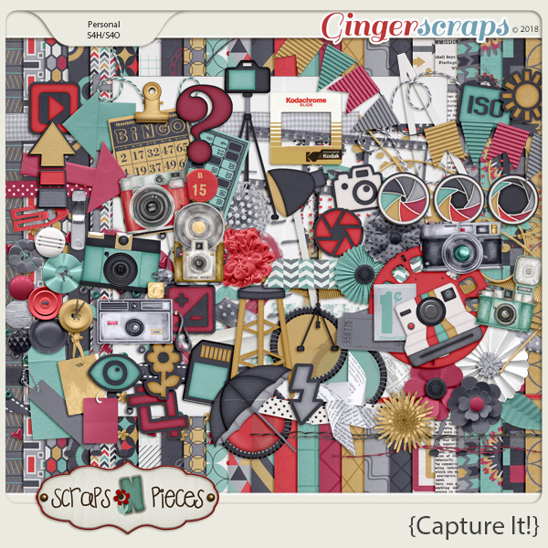 Capture It by Scraps N Pieces