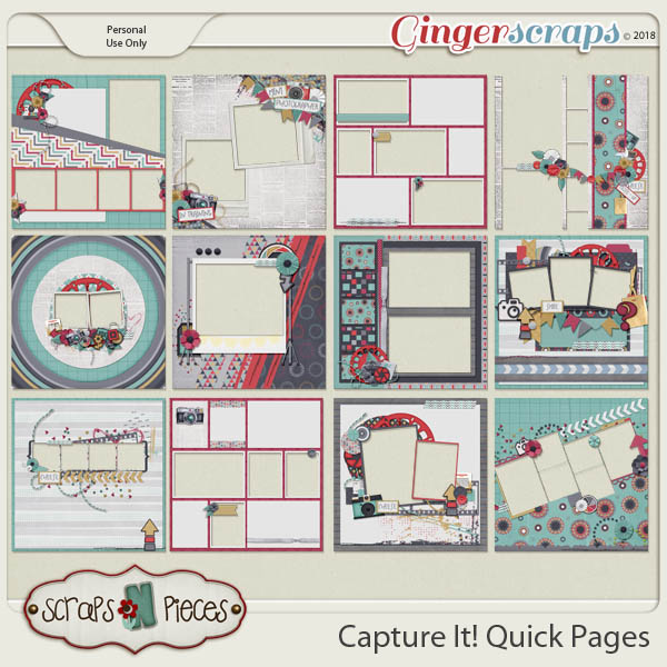Capture It Quick Pages by Scraps N Pieces