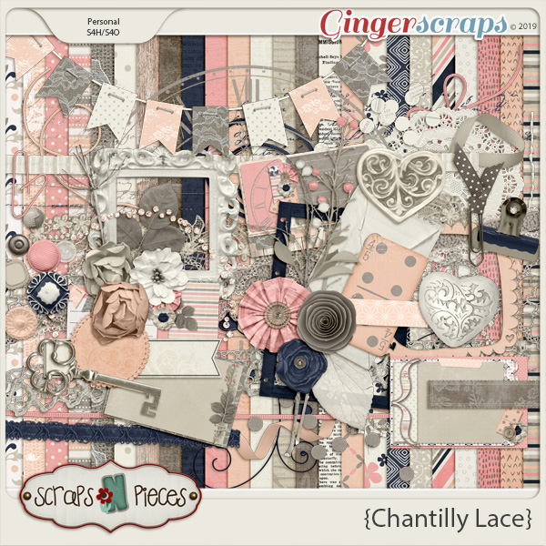 Chantilly Lace by Scraps N Pieces