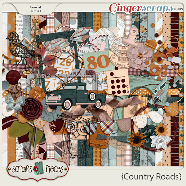 Country Roads Kit by Scraps N Pieces