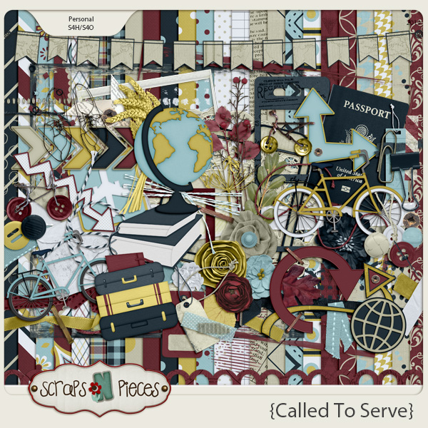 Called To Serve kit by Scraps N Pieces