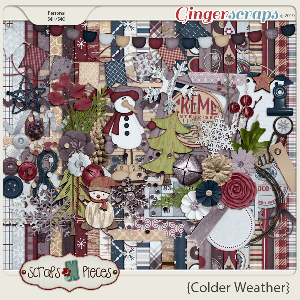 Colder Weather kit by Scraps N Pieces