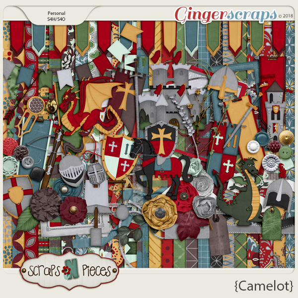 Camelot Kit by Scraps N Pieces