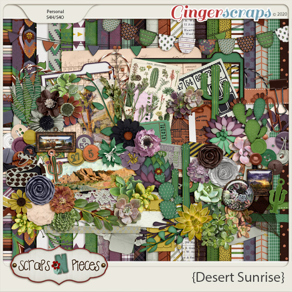 Desert Sunrise kit by Scraps N Pieces