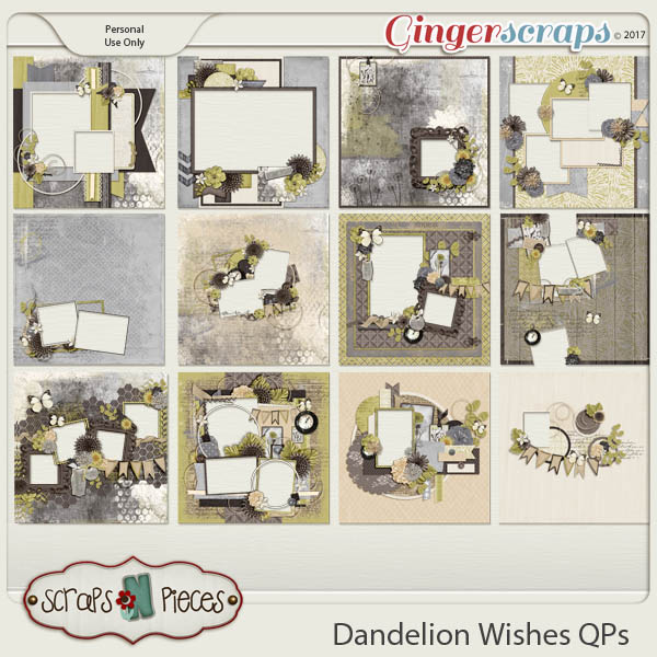 Dandelion Wishes Quick Pages