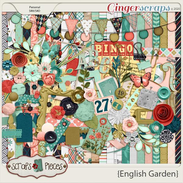 English Garden Kit by Scraps N Pieces