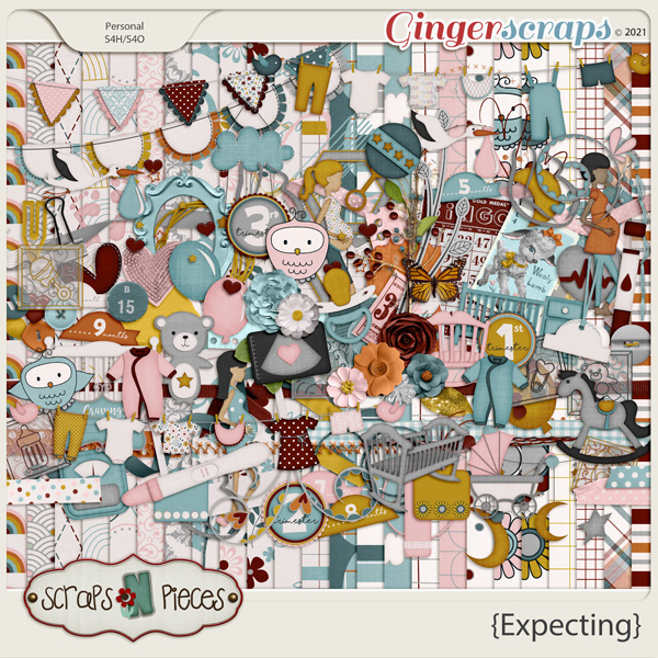 Expecting Kit by Scraps N Pieces