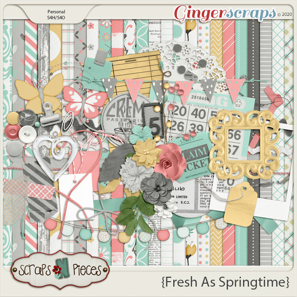 Fresh as Springtime kit by Scraps N Pieces