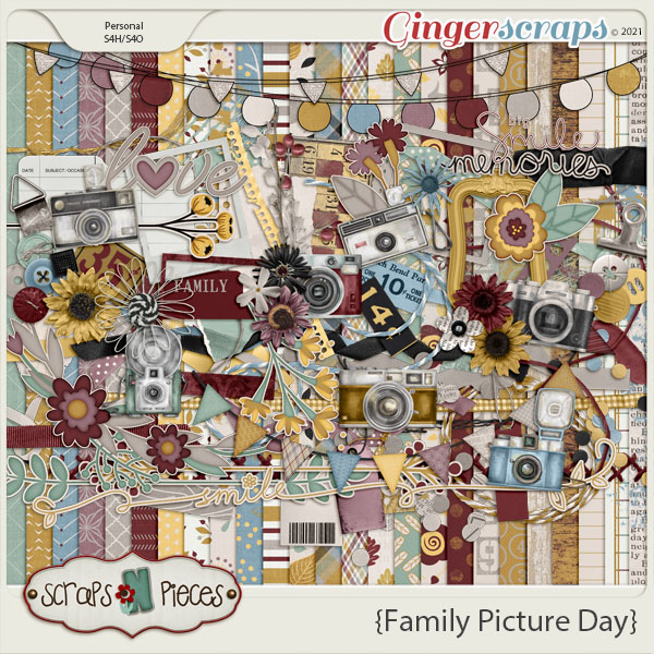 Family Picture Day Bundled Kit - Scraps N Pieces