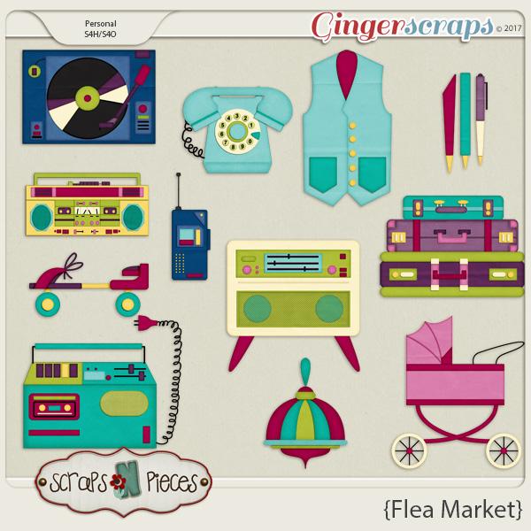 Flea Market Bonus by Scraps N Pieces