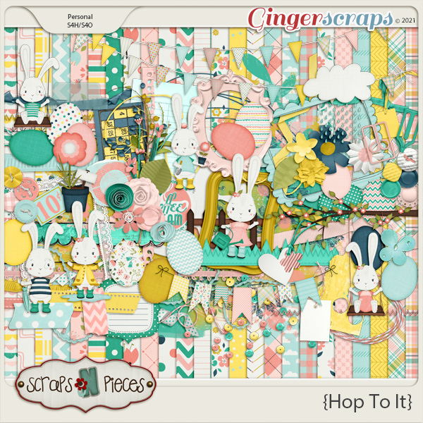 Hop To It Kit by Scraps N Pieces