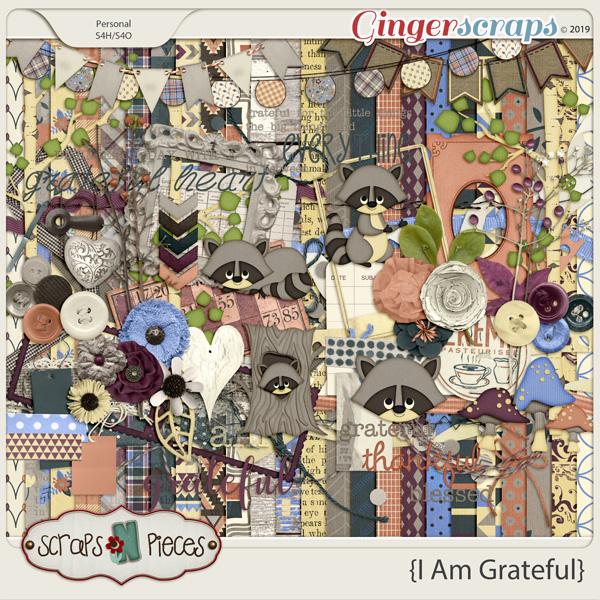 I Am Grateful Bundle by Scraps N Pieces