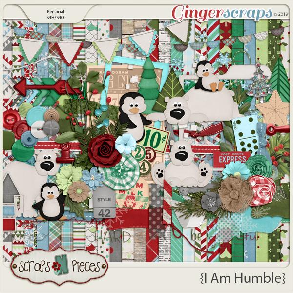 I Am Humble Bundled Kit by Scraps N Pieces