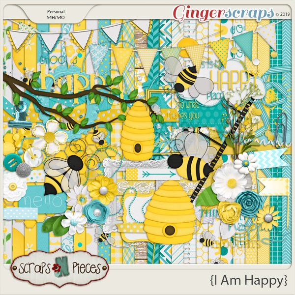 I Am Happy Kit by Scraps N Pieces