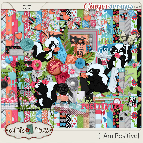 I Am Positive Bundled Kit by Scraps N Pieces