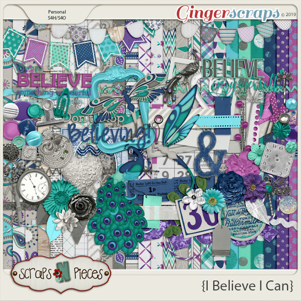 I Believe I Can by Scraps N Pieces