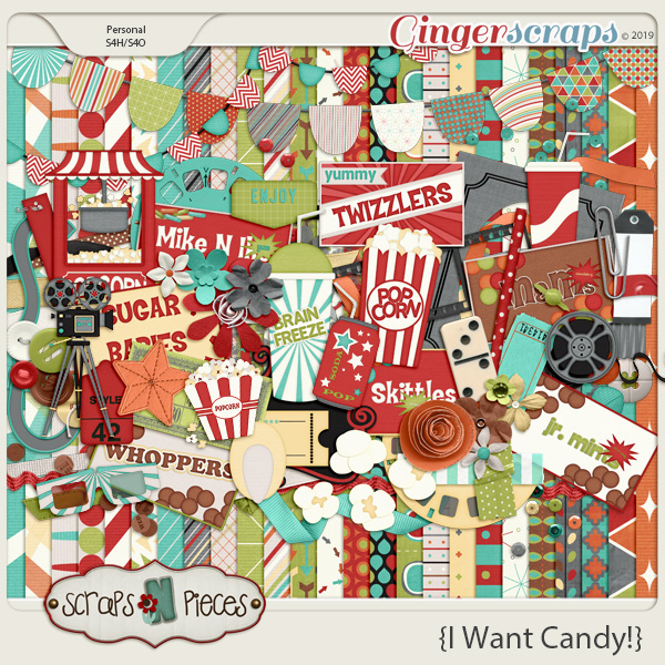 I Want Candy kit by Scraps N Pieces