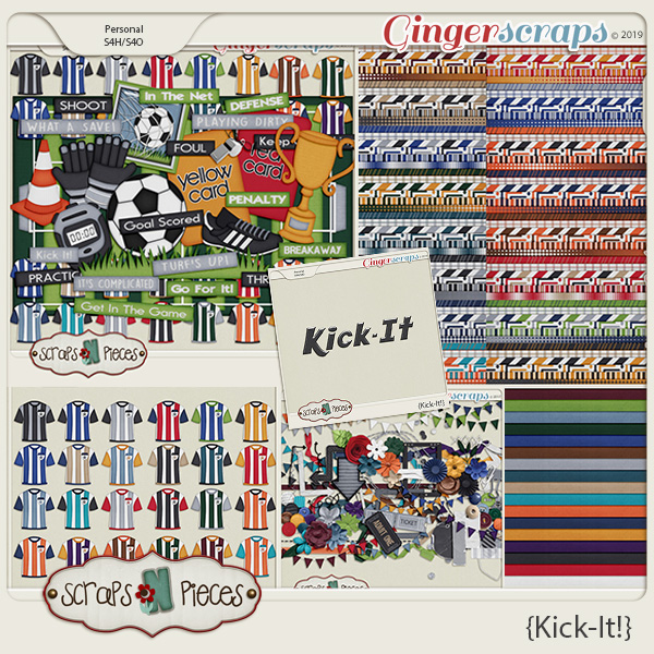 Kick It Bundle by Scraps N Pieces
