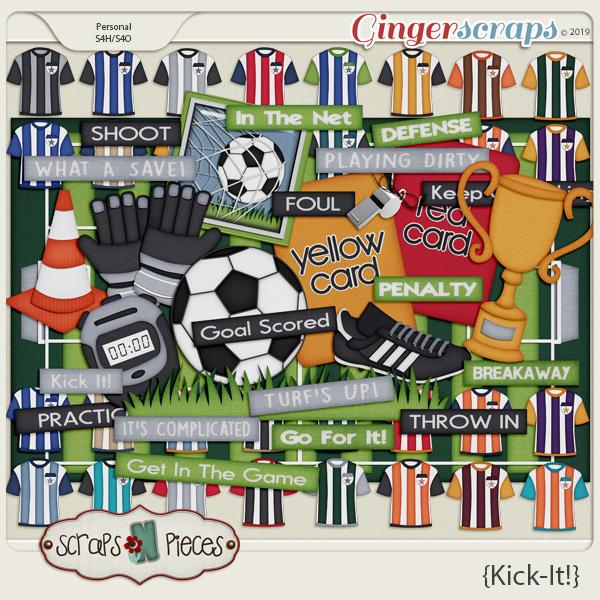 Kick It Kit by Scraps N Pieces