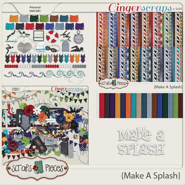 Make A Splash Bundled Kit - Scraps N Pieces