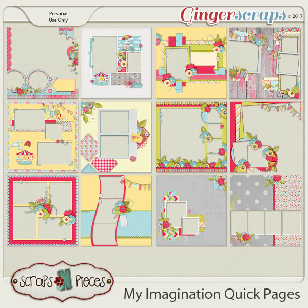 My Imagination Quick Pages