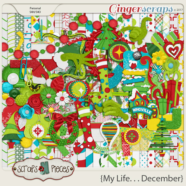 My Life - December Kit by Scraps N Pieces