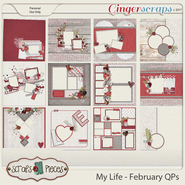 My Life - February Quick Pages