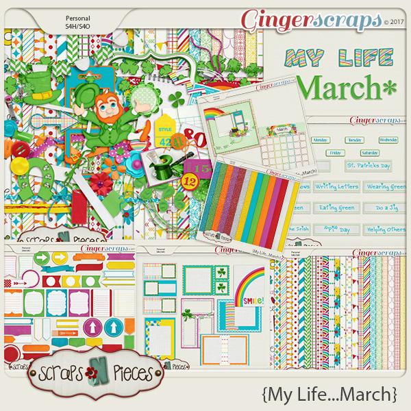 My Life - March Bundle