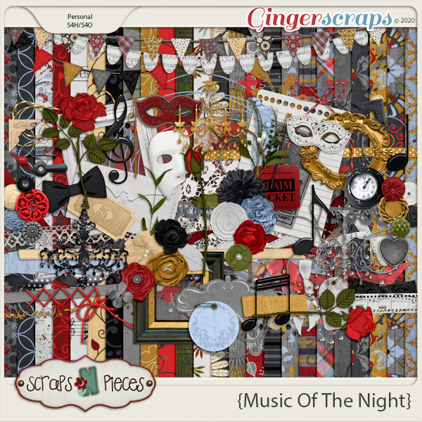 Music of the Night kit - Scraps N Pieces