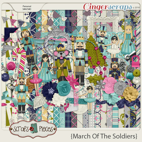 March of the Soldiers kit by Scraps N Pieces