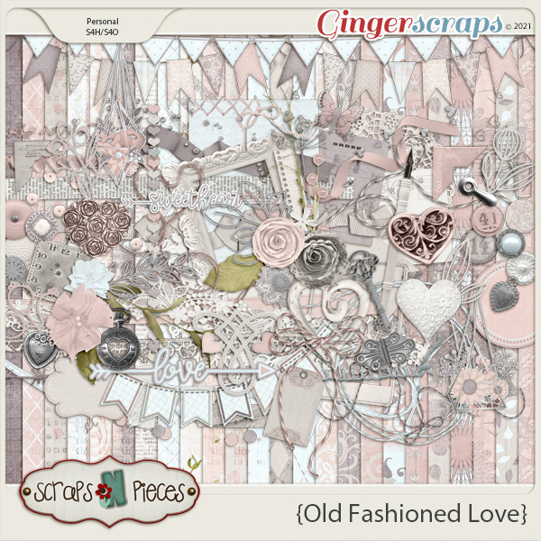 Old Fashioned Love Kit - Scraps N Pieces