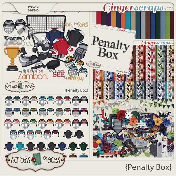 Penalty Box Bundled Kit by Scraps N Pieces