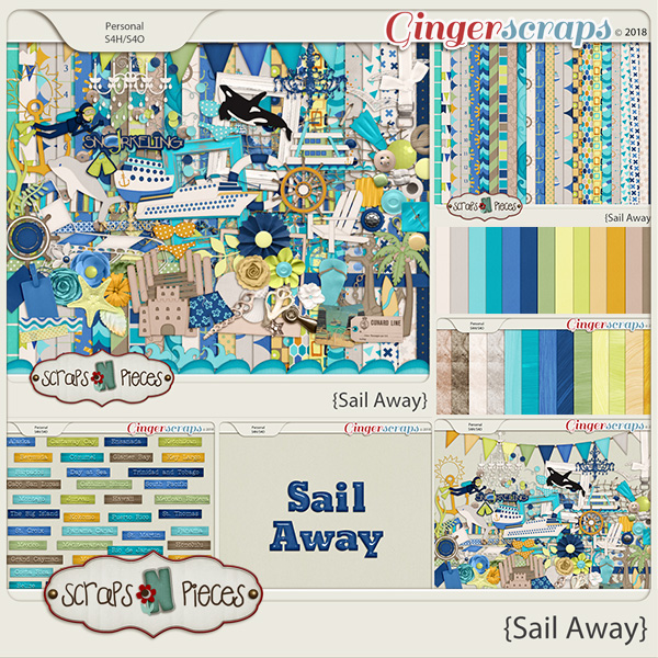 Sail Away by Scraps N Pieces