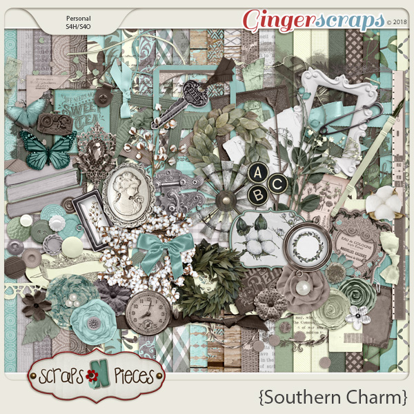 Southern Charm Kit by Scraps N Pieces