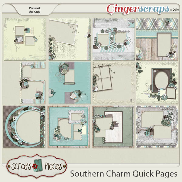 Southern Charm Quick Pages by Scraps N Pieces