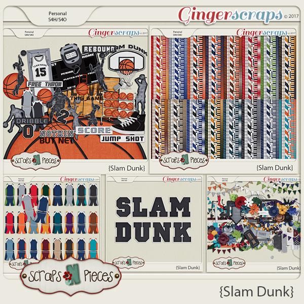 Slam Dunk Bundle by Scraps N Pieces
