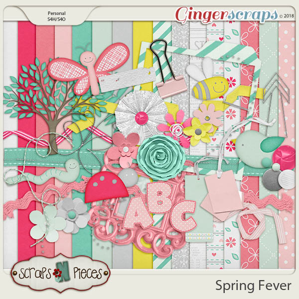 Spring Fever kit by Scraps N Pieces